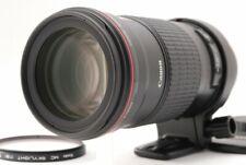 CANON EF 180mm F/3.5 L Macro USM AF Camera Lens filter Top Mint From Japan A008