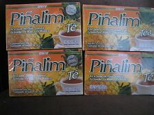 4 X Pinalim Te De Pina GN+Vida 120 unidades. Pinneapple Tea 120  Bags . EXP 2025