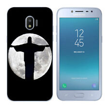 Soft TPU Silicone Case For Samsung Galaxy J2 Pro 2018 Back Covers Skins Black