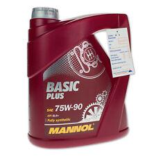 4 (1x4) Liter MANNOL SAE 75W-90 API GL-4+/ GL4+ Basic Plus Fluid Getriebeöl