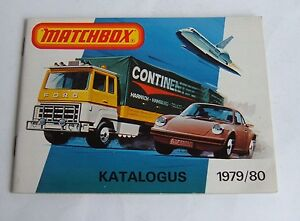 Rare Dutch Matchbox Toys Catalogue, Dated 1979/80, - Superb Mint.