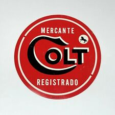 Colt Factory Vintage Sales Decal Spanish