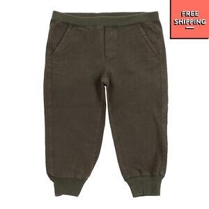DE CAVANA Trousers Size 18M Garment Dye Textured Cuffed Made in Italy