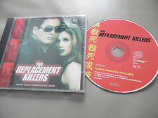 THE REPLACEMENT KILLERS SOUNDTRACK CD ALBUM HARRY GREGSON-WILLIAMS