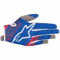 2019 Alpinestars Radar MX Gloves - Blue Red White