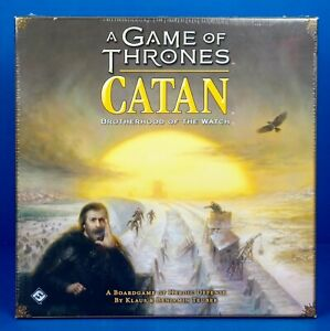 A Game Of Thrones CATAN Brotherhood Of The Watch Board Game - NEW Factory Sealed