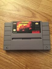Garry Kitchen's Super Battletank: War in the Gulf Super Nintendo Game Snes BB1