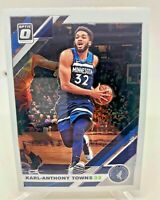 Karl-Anthony Towns - 2019-20 Donruss Optic Card #131 Minnesota Timberwolves