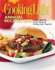 Cooking Light Annual Recipes 2004, N A, Good Book
