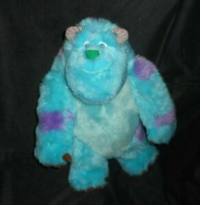 """12"""" DISNEY PARKS MONSTERS INC BLUE SULLEY STUFFED ANIMAL PLUSH TOY SOFT DOLL"""