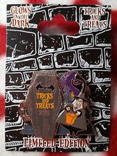 Disneyland Halloween 2015 DISNEY PIN Mayor Vampire Coffin Cross Nightmare NBC
