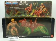 MOTU, He-Man & Battle Cat, Masters of the Universe, MISB, sealed box, Gift Set