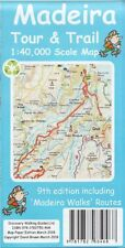 Madeira Tour & Trail Map 1:40,000 pAPER VERSION