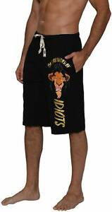 Disney Men's Lion King Scar Surrounded by Idiots Lounge Shorts