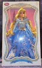 Disney Limited Edition Designer Sleeping Beauty Blue Aurora Doll NEW!