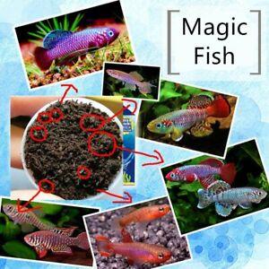 Grow Magic Soil Live Fish Caviar Killifish Eggs Hatching Soil