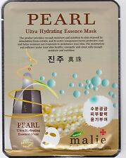 Moisturising Essence Face Mask Sheet Korean Beauty Facial Skin Care 16 Types Pearl 3 Sheets