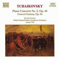 Bernd Glemser-Tchaikovsky Piano Concerto No 2, Op. 44, Concert Fantasy Op. 56 CD