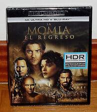 LE RETOUR DE LA MOMIE 4K ULTRA HD+BLU-RAY NEUF SCELLÉ ACTION (SANS OUVRIR) R2