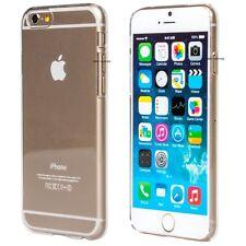 iPhone 6 Kunststoff Schutzhülle Case Durchsichtig Cover Hülle Bump #18