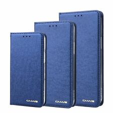 CMai2 Phones Case Silk Pattern Book Flip Leather Stand Credit Bank Card Holder