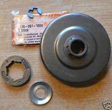 "Genuine Stihl Rim Sprocket Kit MS880 088 084 780 .404"" 7T 1124 007 1024 Tracked"