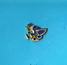 St Louis Blues Goalie NHL Hockey Logo Lapel Hat Pin
