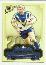 2009 NRL SELECT CLASSIC BULLDOGS ANDREW RYAN CLUB PLAYER OF THE YEAR CP2 CARD