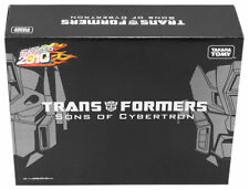 Transformers Sons of Cybertron Henkei Crystal Clear Optimus & Rodimus NEW Xmas