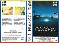 COCOON L'ENERGIA DELL'UNIVERSO (1985) vhs ex noleggio