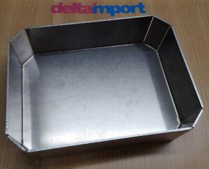 Vaschetta alluminio Porta Attrezzi Universale Tool Bag Enduro Moto D'epoca