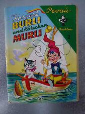 PEVAU Büchlein # Nr. 2 -- Kasperl Burli und Kätzchen Murli //  ca 1960er