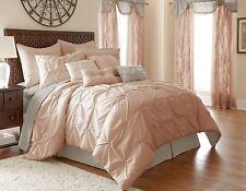 Bedding Comforter Set Queen Size 24 Piece Bed In A Bag Microfiber Bedroom Decor
