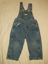 GUESS Jeans YOUTH Toddler Bib Overalls blue denim pants clothing children fashio