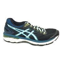 Asics GT-2000 4 Running Shoes Womens Size 8.5 8 1/2 Black Turquoise T656N Sneake
