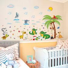 Vinilos infantiles decorativos cocodrilos y delfines DOCLIICK DC-SK9090-18