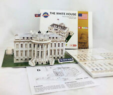 Educational 3D Model Puzzle Jigsaw The White House DIY Toy