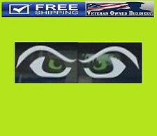 SEAHAWKS EYES VINYL DECAL STICKER WINDOW Bumper Truck Fear Wilson Lynch Largent