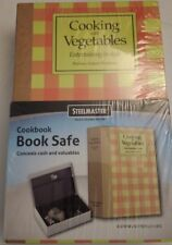 STEELMASTER Cookbook Safe with High-Security Lock and 2 Keys (221269206), New, F