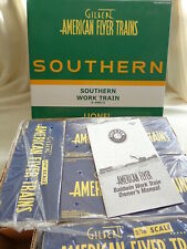 American Flyer 6-49613 Southern  Work Train  / Boxed / S
