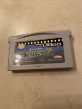 Shrek 2 Nintendo GAMEBOY Game Boy Advance GBA Video MOVIE TESTED AUTHENTIC CART