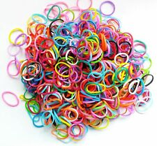 1000/100g Colourful Elastic Rubber Bands Pet Small Dog Hair Bows DIY Accessories