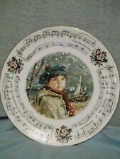 "Royal Doulton 1986 8.5"" Christmas Plate I Saw Three Ships - 4th of series"
