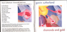 THE SUTHERLAND BROTHERS/GAVIN SUTHERLAND solo 2000 cd album DIAMONDS AND GOLD