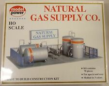 Model Power HO Natural Gas Supply Utility Building Kit 417 New