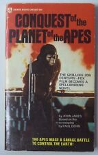 Conquest Of The Planet Of The Apes J. Jakes 1974 Award Pb Book Pulp Fiction 268