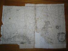 1623 JANSZOON PASCAARTE VANDE WEST CUSTE VAN NOORWEGEN en SPITSBERGE Zonnewiiser
