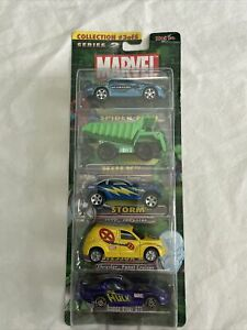 BRAND NEW FACTORY SEALED 2003 Mavel Series 2 Collection 3, 5 pack cars