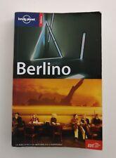 LIBRO GUIDA TURISTICA BERLINO LONELY PLANET GERMANIA VIAGGIO TURISMO MAPPA V