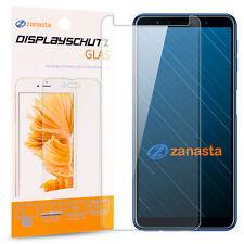 Displayschutz Glas für Samsung Galaxy A7 2018 Folie Schutzpanzer Glasfolie 9H